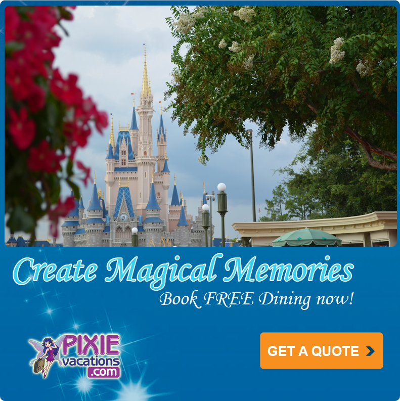 Free Dining 2013 at Disney World
